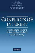 Conflicts of Interest: Challenges and Solutions in Business, Law, Medicine, and