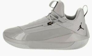 Men's Nike Jordan Jumpman Hustle Smoke Grey / Black AQ0397 002 Size 11