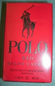 Ralph Lauren POLO Red Eau De Toilette 1.36 oz  New SEALED