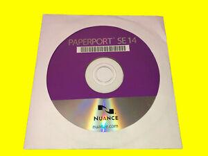 Nuance Paperport 14.6 SE · Aktuellste deutsche Vollversion · NEU + Unbenutzt