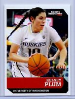 "KELSEY PLUM ""1ST EVER PRINTED"" 2016 SPORTS ILLUSTRATED ROOKIE CARD #501! UCONN!"