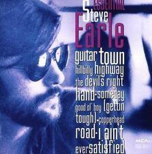 Essential Steve Earle by Steve Earle (CD, Mar-1993, MCA)