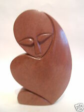 Red Argillite Stone Sculpture Figures Carving Hand Carved in Zimbabwe R#29
