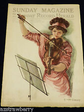 VTG Sunday Magazine of Sunday Record-Herald January 22 1911 Earl Christy adds