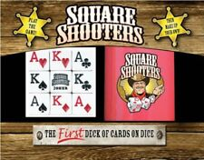 Square Shooters ~ The First Deck of Cards on Dice Game Deluxe by Heartland NEW