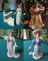 """LENOX FIGURINES """"GALA AT WHITE HOUSE"""" """"FIRST WALTZ"""" """"GRAND ENTRANCE"""" """" VOYAGE"""""""