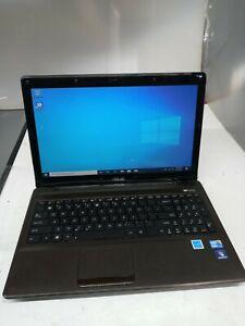 "ASUS K52F-BBR9 Intel Core i3 M370 2.40GHz 4GB RAM 500GB HDD 15.6"" Laptop *READ"