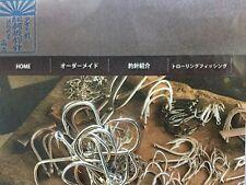 Snapper Hooks Asahi Bari  Japanese Carbon Steel Size  Size 17