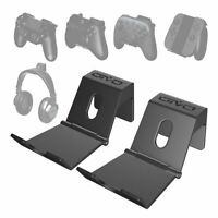 Wall Mount Game Controller Stand For PS4 Controller Headphone Holder