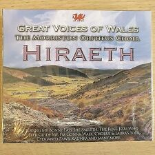 NEW - THE MORRISTON ORPHEUS CHOIR - Welsh Voices Wales Choral Music - CD Album
