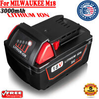 For Milwaukee M18 48-11-1852 48-11-1850 18Volt XC 3.0 Li-ion Extended Battery US