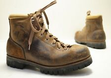 Vintage Vasque Split Hide Brown Leather Hiking Mountain Boot Model 7506 Sz 7