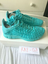 Nike Free Inneva Woven Tech SP - Light Aqua - US 8.5 / EU 42 - 100% DS