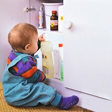4+1 Unsichtbare Kindersicherung, Magnetschloss für Schrank + Schubladen
