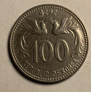 South Korea; 100 Hwan KE4292 - 1959  KM#3