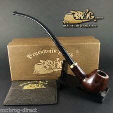 OUTSTANDING CHURCHWARDEN Mr.Brog smoking pipe nr. 114 CONSTANCE brown