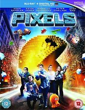 Pixels (2015) Blu-Ray New & Sealed FREE SHIPPING