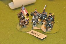 25mm ACW / confederate - officers 6 figures - command (40156)
