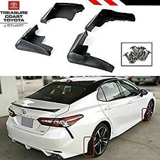 NEW OEM TOYOTA CAMRY 2018-2020 XSE & SE MODELS MUDGUARD KITS WITH SCREWS