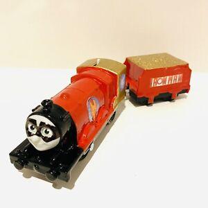 Super Hero Customised Trackmaster Motorised Train Thomas The Tank Engine