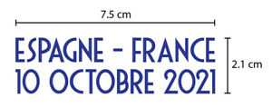 Spain Vs France UEFA Nations League 2020/21 FINAL Match Details (for France)
