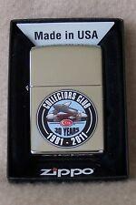 Zippo Lighter   CASE XX  COLLECTORS CLUB 1981-2011  30 Years