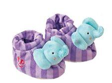Happy People Fisher-Price Rasselschuhe 40826 Elefant Baby-Spielzeug Rassel