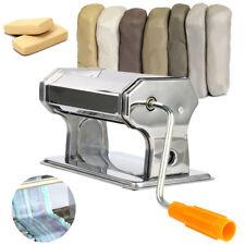 Stainless Steel Craft Polymer Clay Conditioning Machine Press Roller Pasta  AU