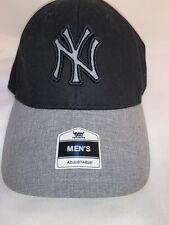 MLB Fan Favorite Adjustable NY New York Yankees Black/Gray Cap Hat NWT