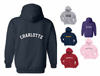 NEW KIDS / CHILDS HOODY / HOODIE PERSONALISED NAME / ANY TEXT, 3 to 15 years