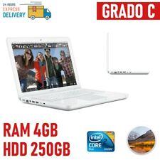 "APPLE MAC MAC BOOK UNIBODY 13"" A1342 LATE 2009 2,26GHZ RAM 4GB 250GB WHITE-"