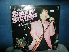 Shakin Stevens and the Sunsets -Rock on with a legend LP