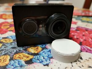 Xiaomi YI action camera 1080p (BLACK) + 8GB microSD Card + Lens Cover