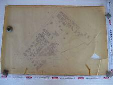 ROMA Mappa Catastale 582 Via Nomentana R. Lanciani Venuti Adinolfi Vasi 1943 c.