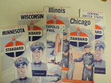 6 STANDARD OIL HGIHWAY  MAPS