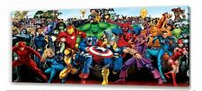 Marvel  long  canvas picture III