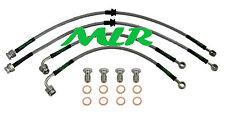 MITSUBISHI LANCER EVO 7 8 9 AEROQUIP BRAIDED BRAKE LINES HOSES PIPES KIT MLR.VH