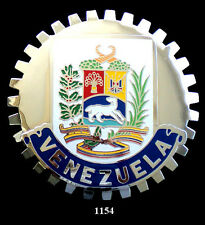 CAR GRILLE EMBLEM BADGES -  VENEZUELA(CREST)
