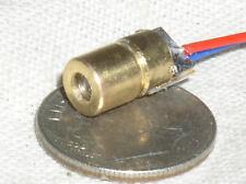 Mini Led Gun Laser Lazer Diode Head 635nm Red Orange Lt5mw 3v Internal Driver Usa