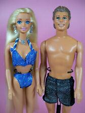 1995 Sparkle Beach Barbie et ken lot de deux poupées