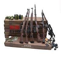6PCS 1/6 BattleField Sniper Battle Rifle GUN WWII KAR-98K SVT-40 G43 RPG M200 #2