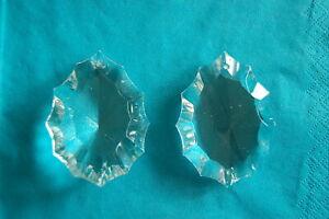 Chandelier Schliff 20 Rosetten Kristallglas 15mm Lüster Kronleuchter Behang