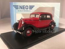 NEO SCALE MODELS 1/43 Wanderer W240 Limousine 1935 Red Art.NEO46215