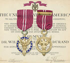 US Medal for Merit Documented Group to Famous Inventor! EXCEPTIONALLY RARE!