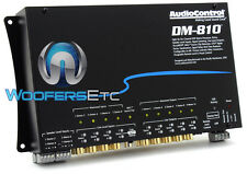 AUDIOCONTROL DM-810 PREMIUM 8 INPUT 10 OUTPUT DSP MATRIX DIGITAL SOUND PROCESSOR