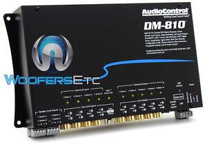 AUDIOCONTROL DM-810 PREMIUM 8 INPUT 10 OUTPUT DSP MATRIX DIGITAL SOUND PROCESSOR