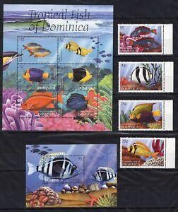 Dominica - Fish - timbres  Briefmarken MNH** G109