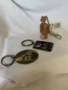 Universal Studios Florida ET Key Ring Key Chain Metal Home