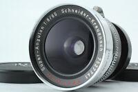 *EXC++++* Schneider-Kreuznach Super Angulon 65mm f8 Linhof Shutter From JAPAN