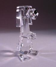 SWAROVSKI CRYSTAL TALL DOG / PLUTO 010024 MINT BOXED RETIRED RARE